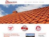 Rénovation toiture Couverture Etanchéité Isolation Alpes Maritimes 06