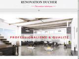 Ducher Rénovation spécialiste plâtrier.