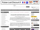 Ruban LED vente au mètre. Bande LED et flexible lumineux à prix discount !