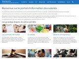Le portail d'information en ligne des salariés : salaries.info