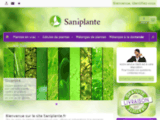 Saniplante : Boutique E-commerce  de plantes