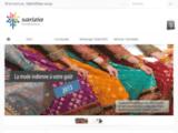 Vente de sari indien