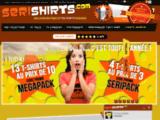 Serishirts : Tee Shirt Super Héros sérigraphiés, sans frais de port