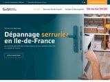 Service de serrurier en 30 minutes, 24/24h et 7/7 jours, Paris et Ile-de-France