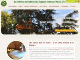 Cabanes dans les arbres au château des énigmes