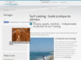 Guide en ligne du pêcheur en surf-casting.
