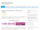 Réservation de taxis à Nice