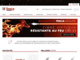 Tesca Groupe - Vente Câbles Cordons Connectique Fibre depuis 15 ans