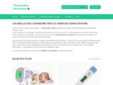 Thermomètre électronique médical, thermomètre extérieur-intérieur,
