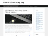 u2f-key.tech : les clés U2F garant de vote sécurité en ligne