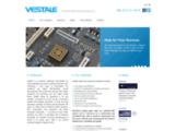 Vestale, fabrication Electronique