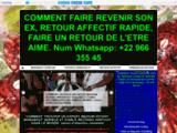 RETOUR AFFECTIF SERIEUX, RITUEL RETOUR DE L'ETRE AIME EN 48 HEURES