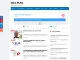 WEB MAG  E-magazine jeune tunisien