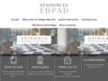 Les résidences médicalisées EHPAD, une prise en charge personnalisée